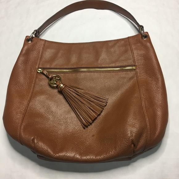 Michael Kors Bags   Pebble Leather Hobo Bag Tassle   Poshmark c5b2bf2859